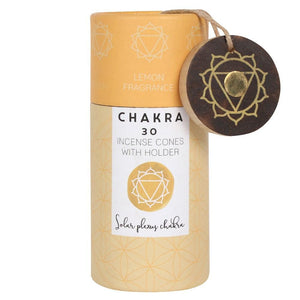Lemon Solar Plexus Chakra Incense Cone Gift Pack