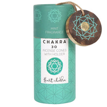 Mint Heart Chakra Incense Cone Gift Pack
