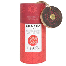 Strawberry Root Chakra Incense Cone Gift Pack