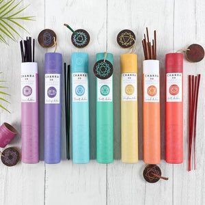Lemon Solar Plexus Chakra Incense Stick Gift Pack