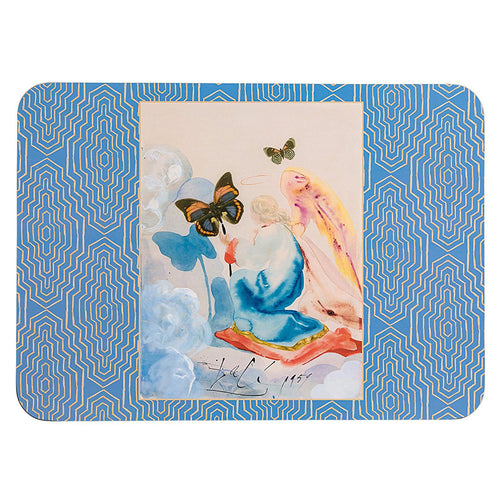 Boxed Salvador Dalí Hallmark Fine Artists Kneeling Woman Place Mats
