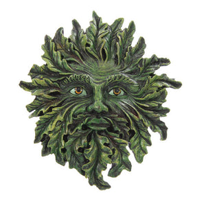 Pagan Green Man Garden Plaque