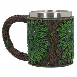 Pagan Green Man Tankard