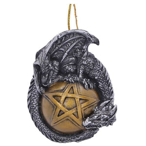 Hanging Dragon Bauble Ornament