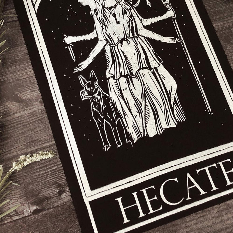 Large Hecate Oracle Back Patch