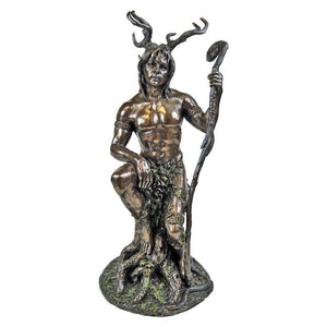 Bronze Herne The Hunter Figurine