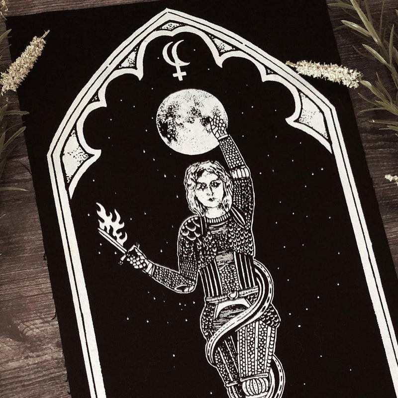 Large Lilith Oracle Back Patch