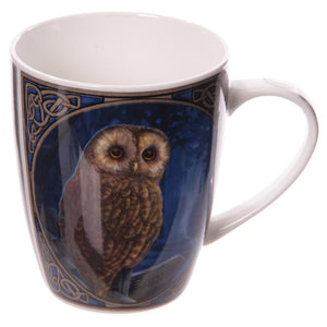 Lisa Parker Way Of The Witch Magical Pendle Owl Bone China Mug