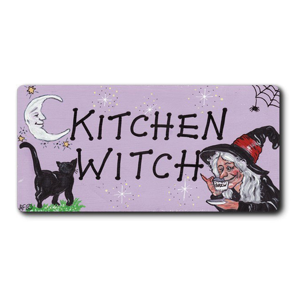 Kitchen Witch Fridge Magnet