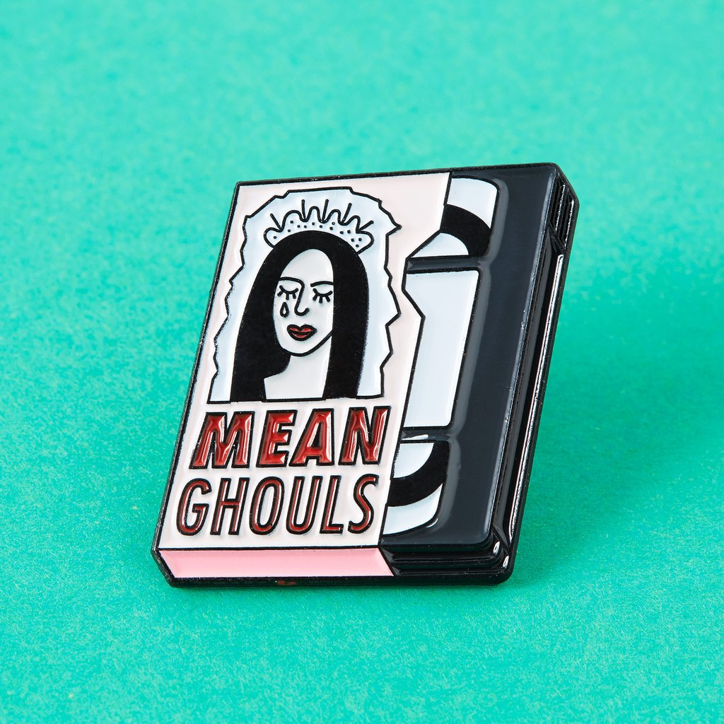 Mean Ghouls Enamel Pin