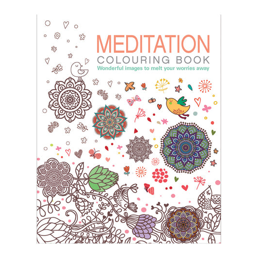 The Meditation Colouring Book
