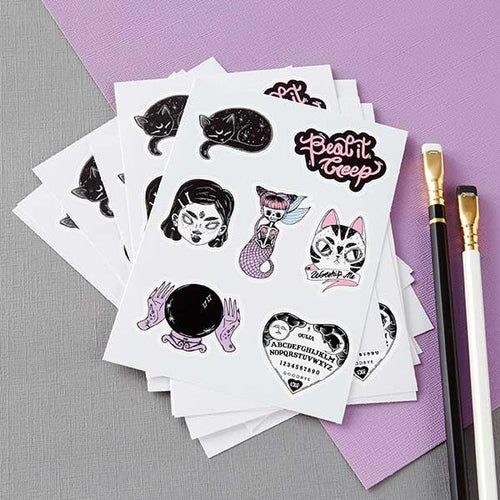 Mystical and Magickal Sticker Sheet