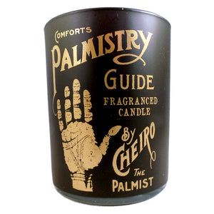 White Petal and Sandalwood Palmistry Candle