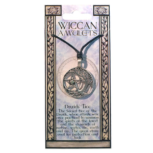 "Pewter Wiccan ""Druids Tree"" Pendant"