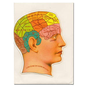 Phrenology Card