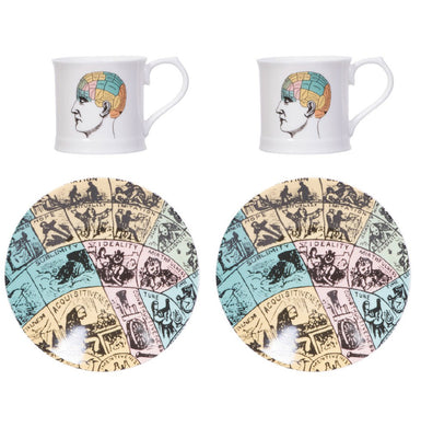 Phrenology Espresso Set of 2 and Gift Box