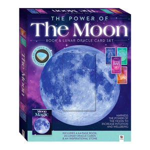 The Power of the Moon Box Set - Book, Lunar Oracle Cards and Stone