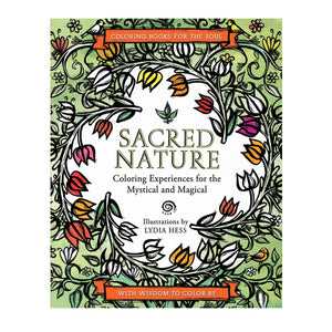 Sacred Nature Colouring Book by Lydia Hess