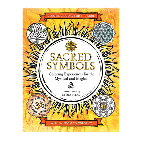 Sacred Symbols Colouring Book by Lydia Hess