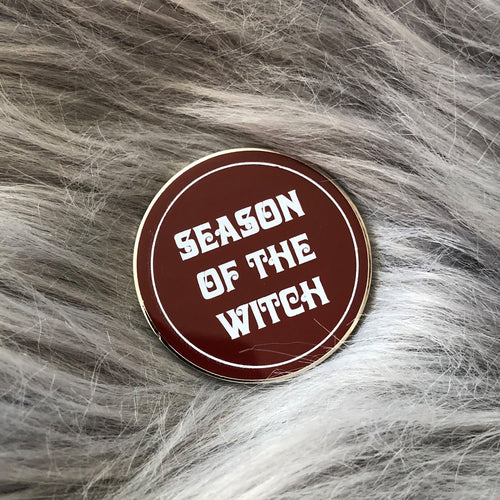 Season Of The Witch Enamel Pin