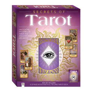 Secrets of Tarot Box Set - Book and Cards