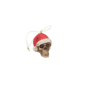 Silent Night Skull Bauble