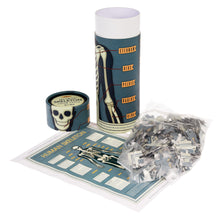 Anatomical Human Skeleton Jigsaw in a Tube