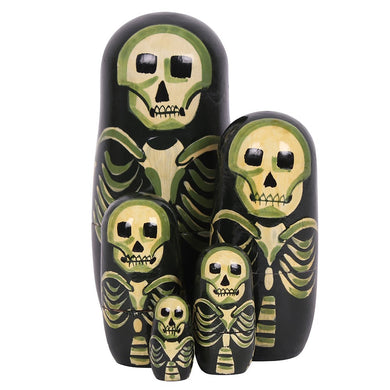 Skeleton Russian Doll Set