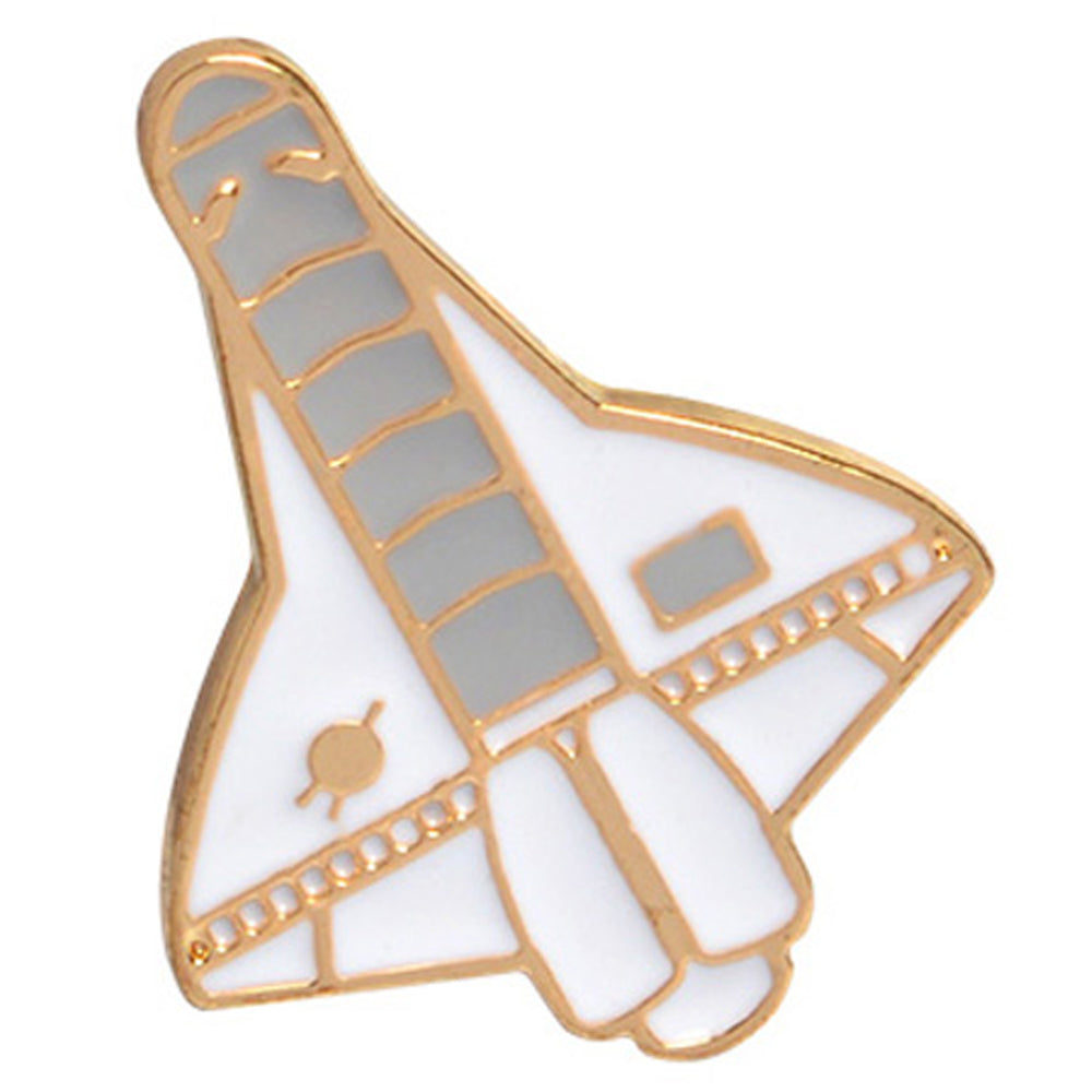 Spaceship Enamel Pin