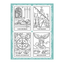 Create Your Own Tarot Deck Adult Colouring Book