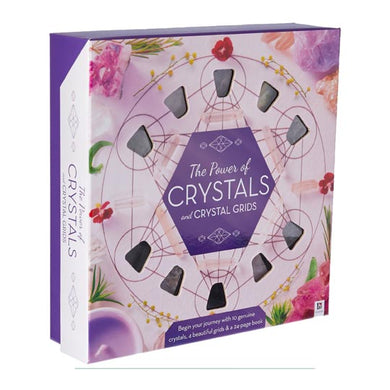 The Power of Crystals Box Set - Book, Crystals, Crystal Grids