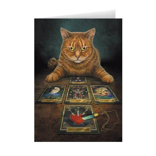Lisa Parker The Reader Tarot Greeting Card