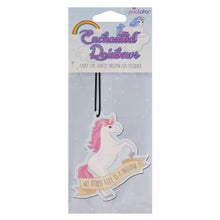 My Other Ride Is A Unicorn Air Freshener