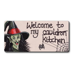 Welcome To My Cauldron Fridge Magnet