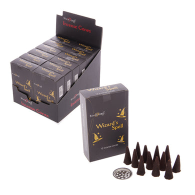 Stamford Black Wizards Spell Incense Cones