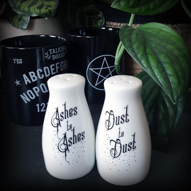 Ashes and Dust Salt and Pepper Set - Alchemy