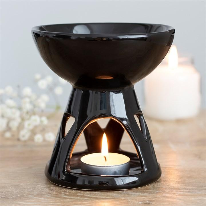 Deep Bowl Oil Burner - Gothic Gifts