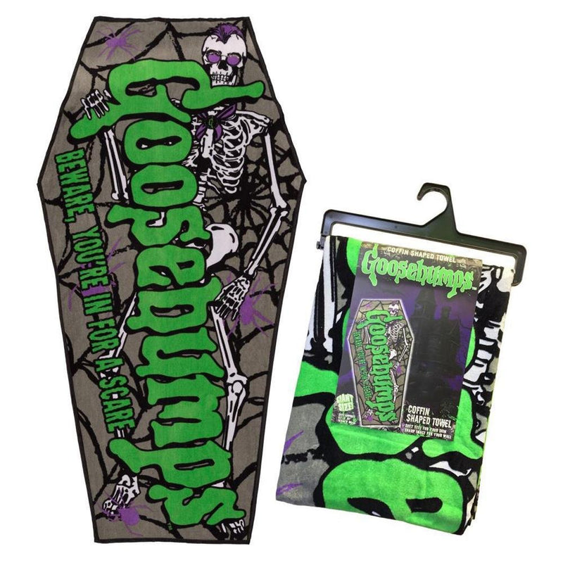 Goosebumps Coffin Beach Towel (Official) - Kreepsville 666