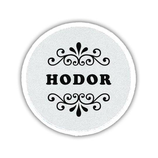 Hodor Sew On Patch - LaLa Land