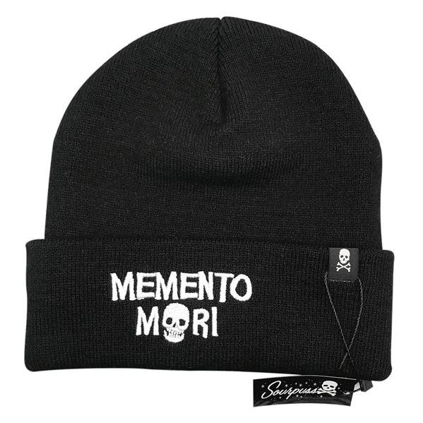 Memento Mori Knit Hat - Sourpuss
