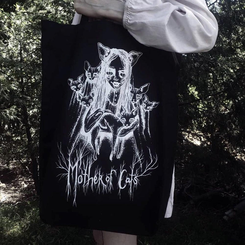 Oversize Mother Of Cats Tote Bag - The Pretty Cult