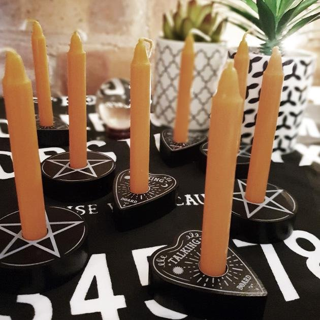 Pentacle Spell Candle Holder - Gothic Gifts