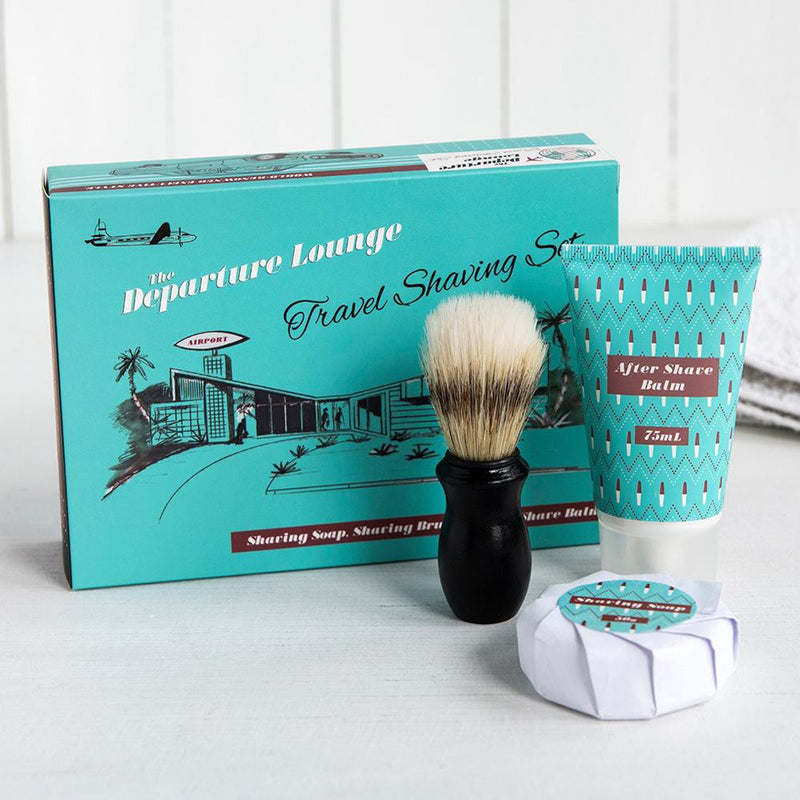 Retro Departure Lounge Travel Shaving Kit - Departure Lounge