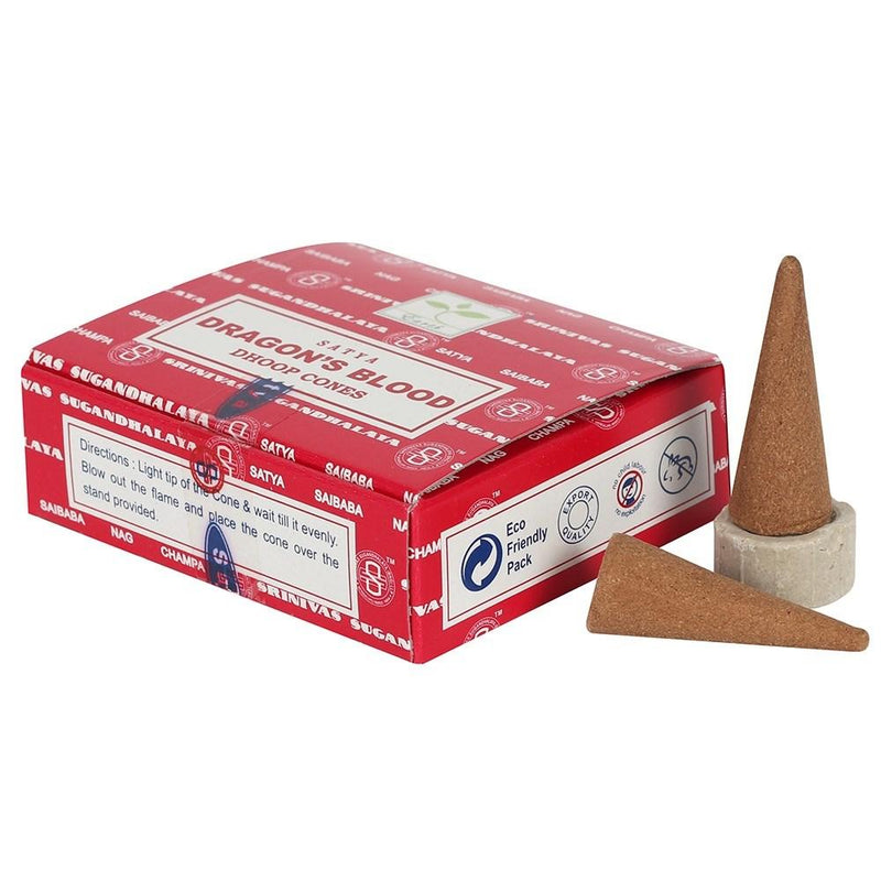 Satya Dragon's Blood Dhoop Cones - Gothic Gifts
