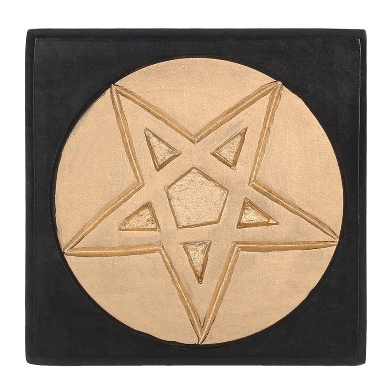 Small Pentagram Altar Table - Gothic Gifts
