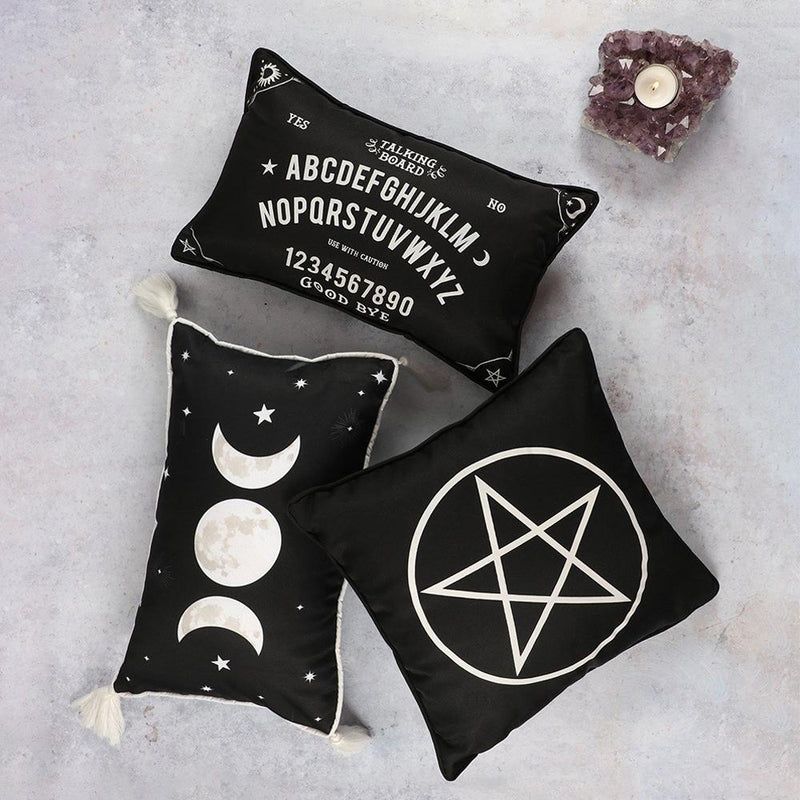 Small Rectangular Ouija Board Cushion - Gothic Gifts