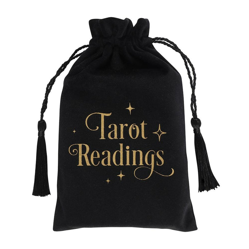 Tarot Readings Velvet Drawstring Bag - Mystical Gifts