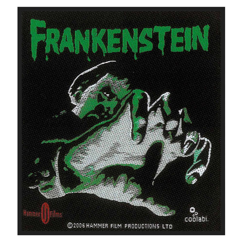 The Curse of Frankenstein Hammer Films Patch (Official) - Rock Off