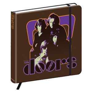 The Doors '70's Panel' Hardback Notebook