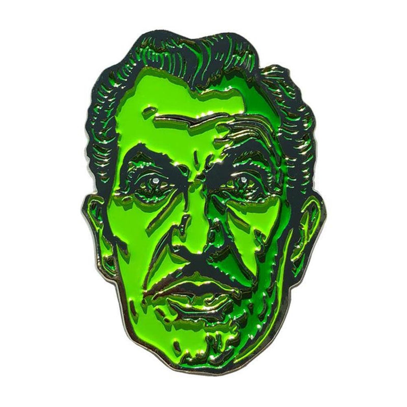 Vincent Price Portrait Enamel Pin (Official) - Kreepsville 666